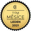 Teamleader měsíce leden 2021