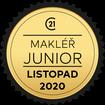 Makléř měsíce Junior listopad 2020