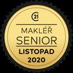 Makléř měsíce Senior listopad 2020
