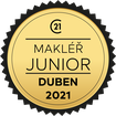 Makléř měsíce Junior duben 2021
