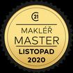 Makléř měsíce Master listopad 2020