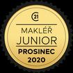 Makléř měsíce Junior prosinec 2020