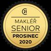 Makléř měsíce Senior prosinec 2020