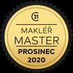 Makléř měsíce Master prosinec 2020