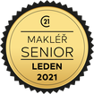 Makléř měsíce Senior leden 2021
