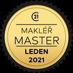 Makléř měsíce Master leden 2021