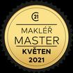 Makléř měsíce Master květen 2021