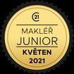 Makléř měsíce Junior květen 2021
