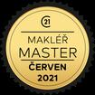 Makléř měsíce Master červen 2021