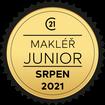 Makléř měsíce Junior srpen 2021