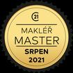 Makléř měsíce Master srpen 2021