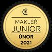 Makléř měsíce Junior únor 2021
