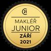 Makléř měsíce Junior září 2021