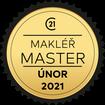 Makléř měsíce Master únor 2021