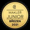Makléř měsíce Junior březen 2021