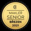 Makléř měsíce Senior březen 2021