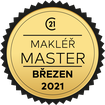 Makléř měsíce Master březen 2021
