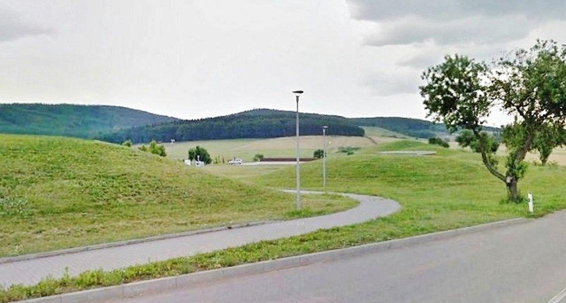 Pohled ze silnice Kuřim-Jinačovice