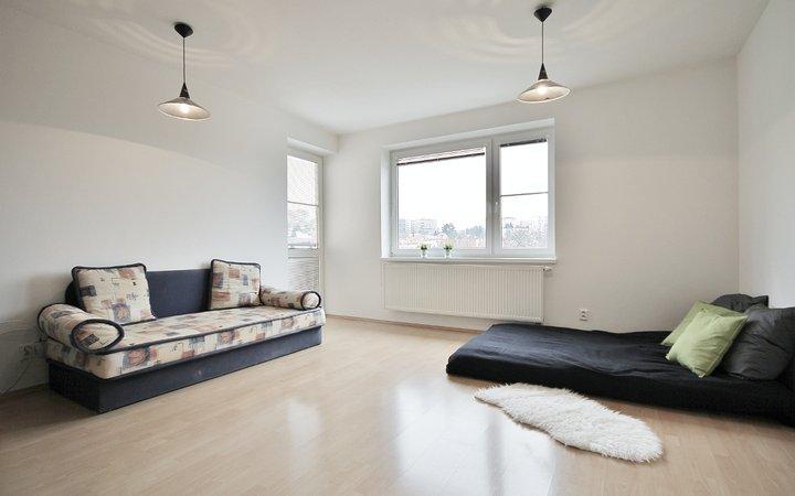 Pronájem bytu 1+KK v novostavbě, 39m2, krásný výhled!
