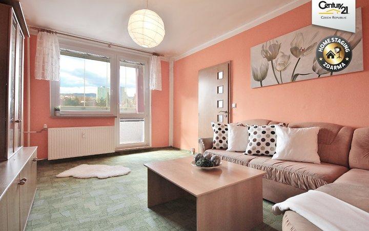 Světlý prostorný byt, 3+1, Kuřim