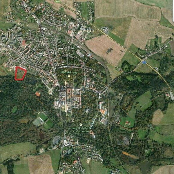 Pozemek 11 969 m2 pro developerské či komerční užití