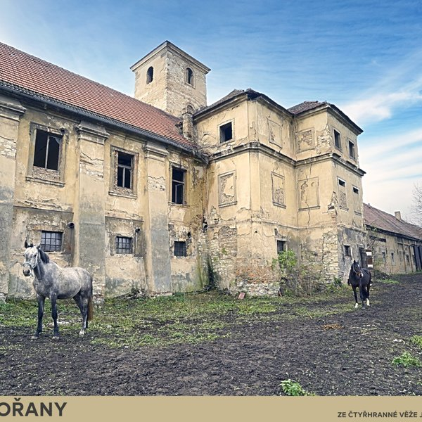 Barokní Zámek Zahořany