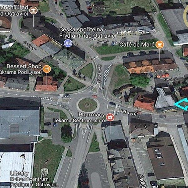 Pronájem atraktivních prostor v centru Frýdlantu n/O