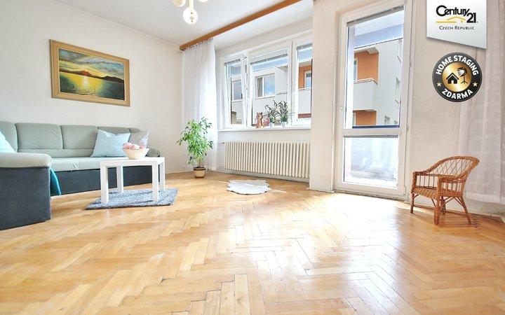 prostorný byt 2+1 v žádané lokalitě Brno Lesná