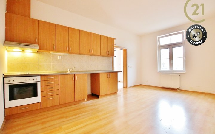 Pronájem slunného bytu 3+kk,65 m2 ul. Hybešova