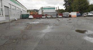 Pronájem parkovací plochy od 1m2 -1500 m2, Zlín- Prštné