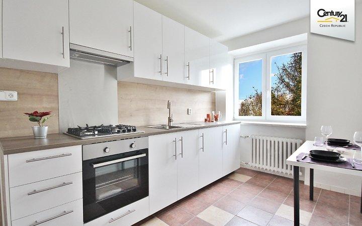 Krásný byt 3+1 v cihlovém domě v Brně Žabovřeskách