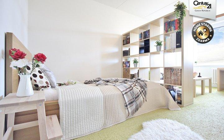 Prodej pěkného světlého bytu 1+1, 40 m2, Brno - Bystrc