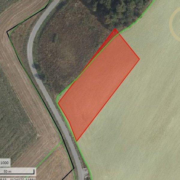 Prodej zemědělské půdy, k.ú. Horní Štěpánov, okr. Olomouc, 13 367 m2