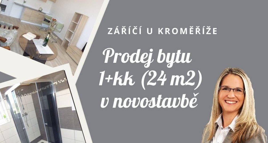 Záříčí byt 1kk 24m2 bez loga