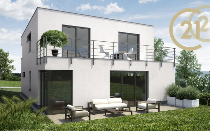 Novostavba patrového domu 6kk v Holubicích u Brna