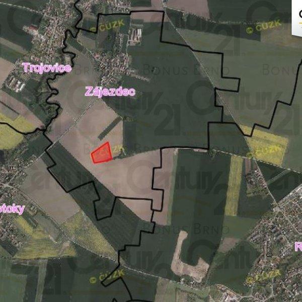 Zemědělské pozemky, Zájezdec, okr. Chrudim, 2 659 m2