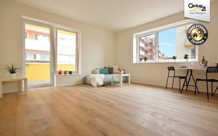 Novostavba byt 2+kk s terasou 53 m2, Kamechy
