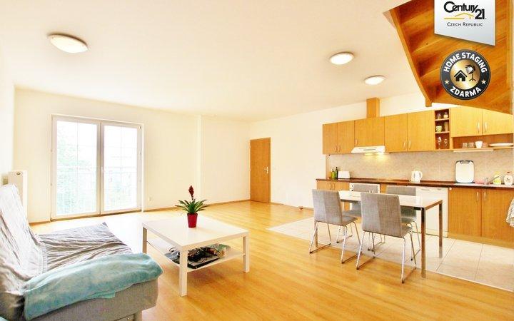 Nádherný slunný byt 3+kk 120 m2, ul. Hybešova 47