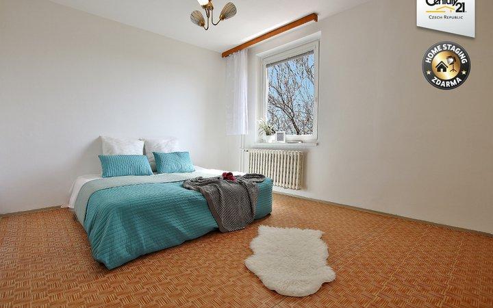 Byt 2+1 s balkonem v klidné části Brno-Slatina