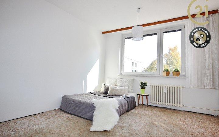 Prodej slunného bytu 1+1 Jihlava, ulice Březinova