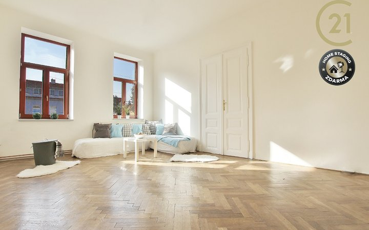 Prostorný, světlý byt 4+1,112m2, Brno - Palackého tř.