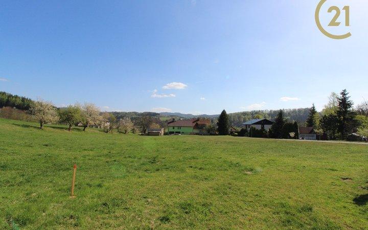 Nabízím st. parcelu k výstavbě RD (1105 m2) Dolní Bečva