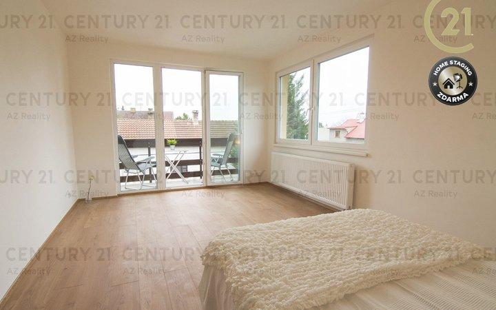 Byt 3+kk s 2 balkony a vlastní zahradou Býchory