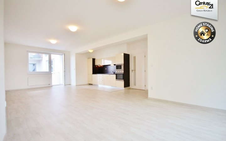 Pronájem krásného bytu 3+kk s terasou 91 m2, ul. Kollárova 5