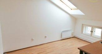 Útulný malý byt / kancelář v podkroví na Náměstí Bratří Synků