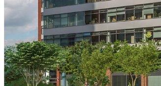 moderní kanceláře (A),150-3000m2, metro B Nové Butovice