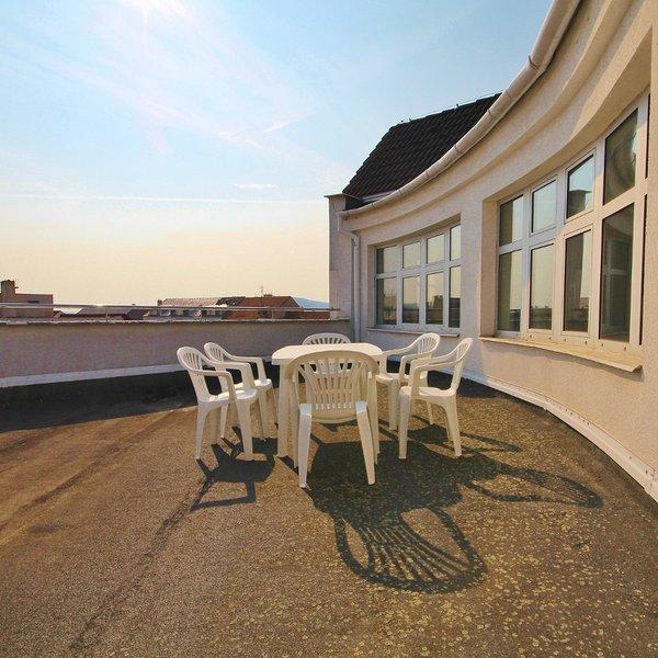 Moderní, slunné prostory, terasa.Rosice, Komen. náměstí