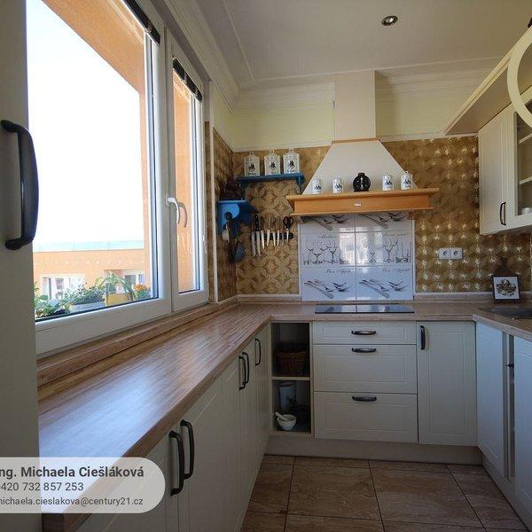 Slunný byt 3+1 s výhledem na Ještěd, Liberec