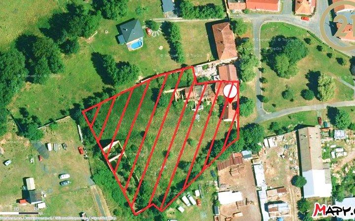 Develop-pozemek, 5 418m2, Nová Ves II, Rostoklaty