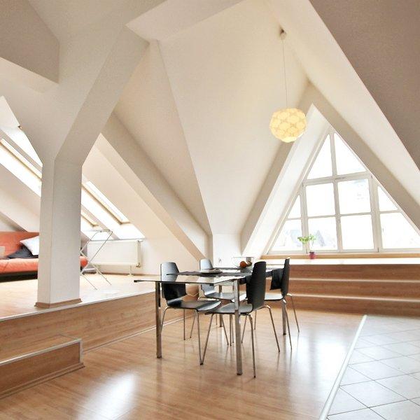 Střešní byt 3+kks terasou, 103 m2 na ul. Panská